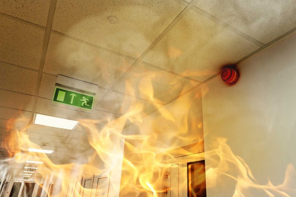 Protección contra incendios según decreto
