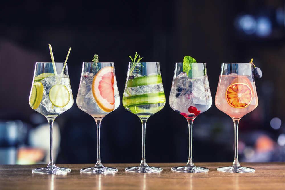Aumenta la demanda de copas de gin tonic en la hostelería española