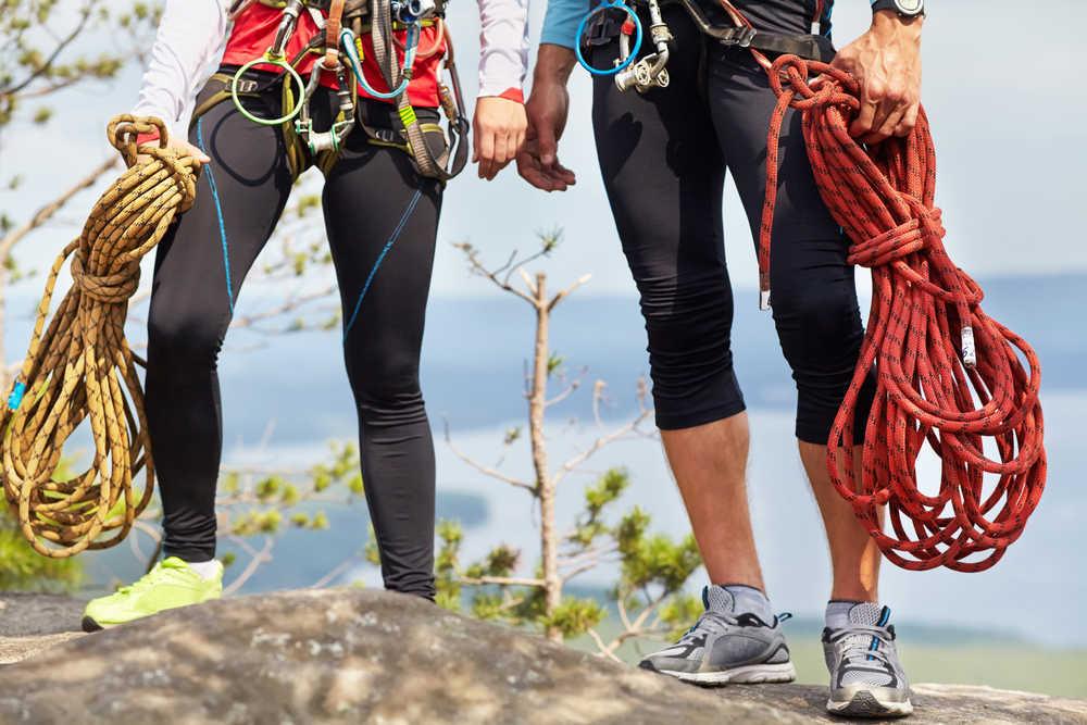 Las diferentes cuerdas para escalar y sus opciones