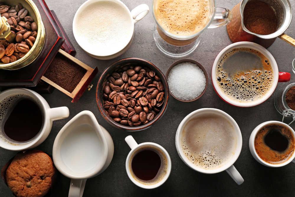 Los principales tipos de café que puedes pedir en una cafetería
